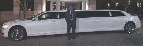 Woodlands Limo Service White limo
